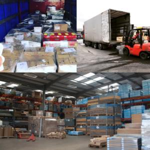 Перевозка товаров народного потребления, грузов на паллетах
